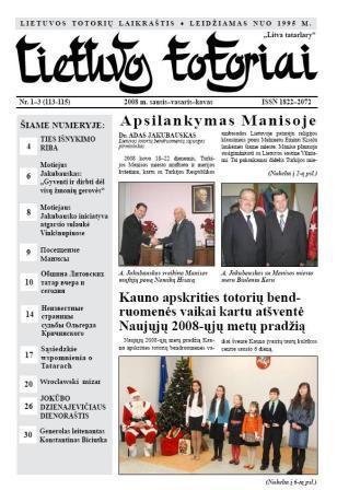 Lietuvos totoriai laikrastis