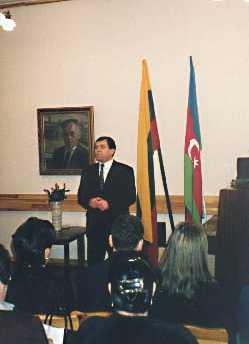 Lietuvos azerbaidžaniečių bendrijos pirmininkas M. Gamzajevas
